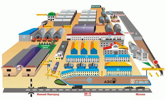 владимирский тракт схема павильонов